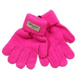 Перчатки Глория ярко-розовые