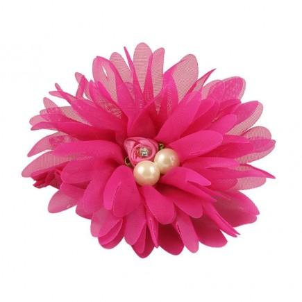 Резинка детская Настроение ярко-розовая
