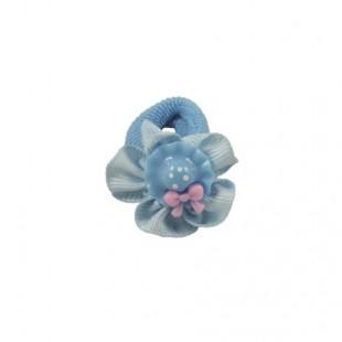 Резинка детская Шляпка голубая