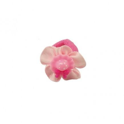 Резинка детская Шляпка розовая