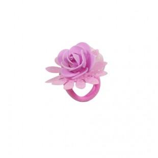 Резинка детская Роза розовая