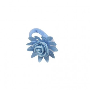Резинка детская Роза голубая