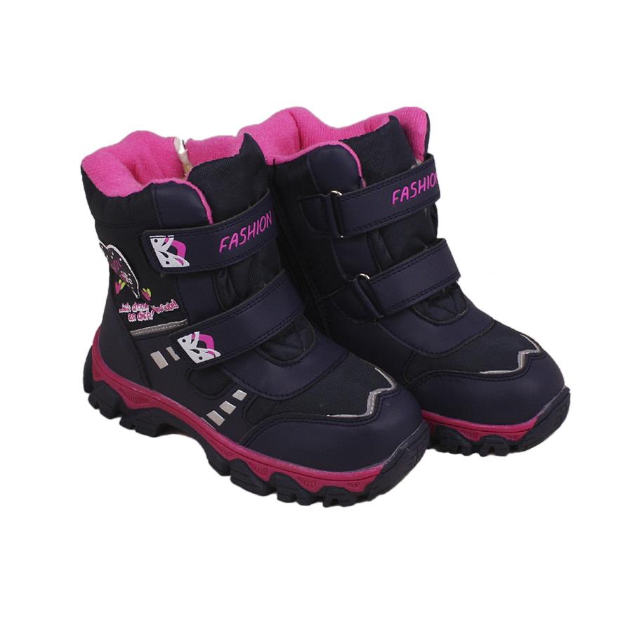 Ботинки детские зимние для девочки Fashion купить недорого в ... 0840b5837703f