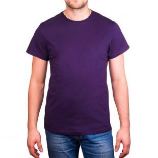 Футболка фиолетовая детская однотонная без рисунка Дарси