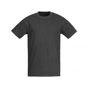 Футболка мужская темно-серая однотонная без рисунка