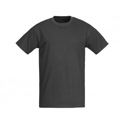 Мужская темно-серая однотонная футболка без рисунка