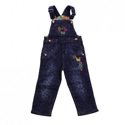 Комбинезон джинсовый для девочки Merciato