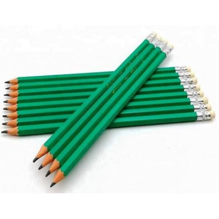 Набор чернографитных карандашей 12 штук