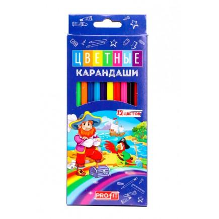 Цветные карандаши Profit 12 цветов