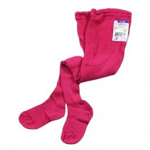 Колготки детские 100% хлопок розовые