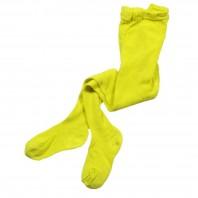 Колготки детские 100% хлопок  желтые
