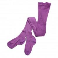 Колготки детские 100% хлопок  фиолетовые