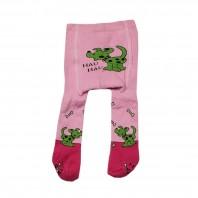 Колготки  детские Собачка розовые