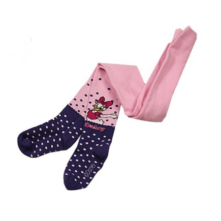 Колготки  детские Daisy розово-голубые