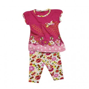 Костюм детский  Пчелки розовый