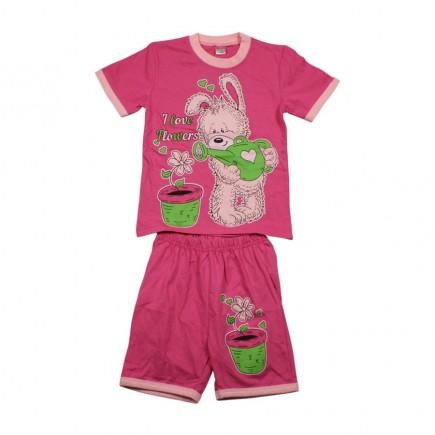 Костюм детский  Зайка розовый