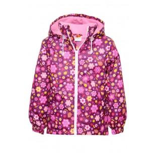 Ветровка для девочки розовая