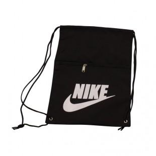 Мешок для сменной обуви черный