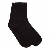 Носки  детские черные однотонные