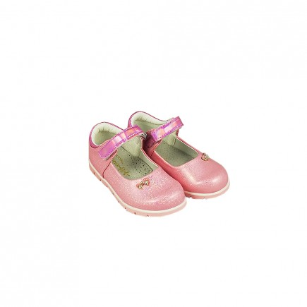 Туфли для девочки Бантик розовые