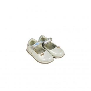 Туфли для девочки Бантик белые