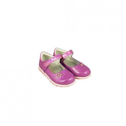 Туфли для девочки Бантик фиолетовые