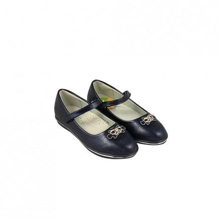 Туфли для девочки синие