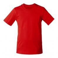 Футболка красная детская однотонная без рисунка Дарси