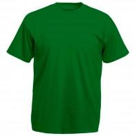 Футболка зеленая детская однотонная без рисунка Дарси