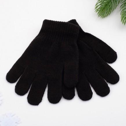 Перчатки детские черные