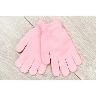 Перчатки детские светло-розовые
