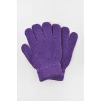 Перчатки детские фиолетовые