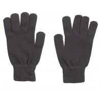 Перчатки детские темно-серые