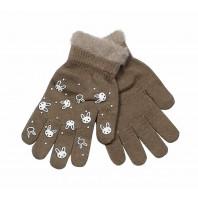 Перчатки коричневые Мария