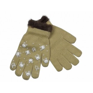 Перчатки бежевые Мария