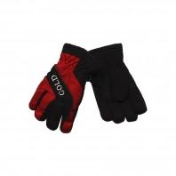 Перчатки зимние красные