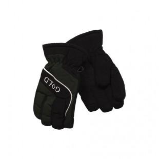 Перчатки зимние зеленые