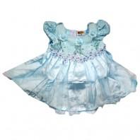 Платье детское  нарядное Анастасия голубое