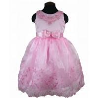 Платье детское нарядное Элегия розовое