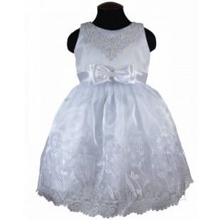 Платье детское нарядное белое