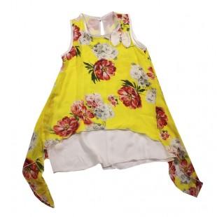 Платье детское Летний день желтое