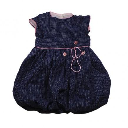 """Платье детское  """"Нежность"""" синее"""