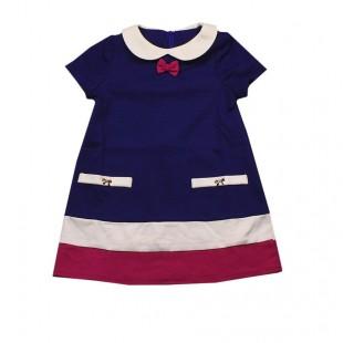 Платье детское  Грация синее