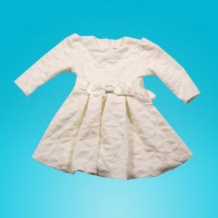 Платье детское  белое