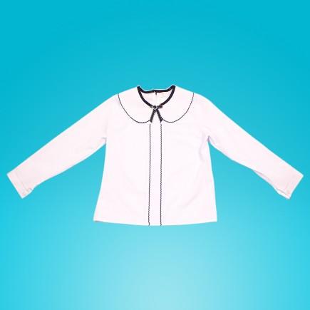 Блузка для девочки Ewax белая