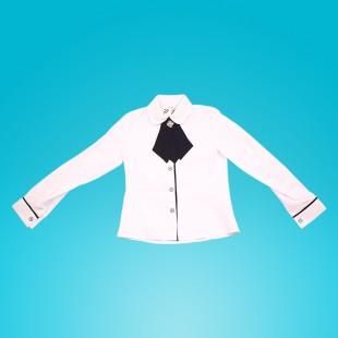 Блузка для девочки Тер-ко белая