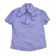 Блузка для девочки Анна голубая