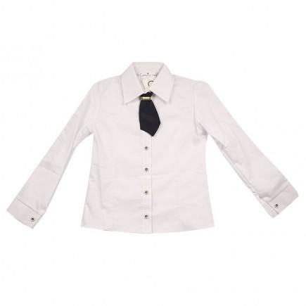 Блузка для девочки Ангелина белая