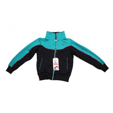 Костюм спортивный ARUS для девочки бирюзово-черный