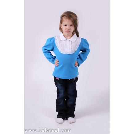 Джемпер для девочки синий Damy-M